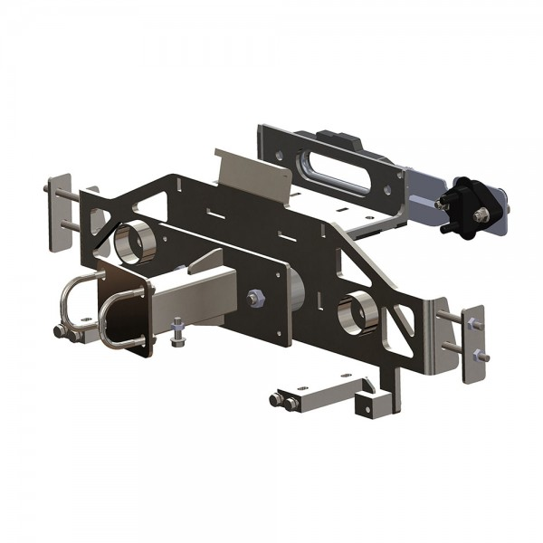 Cable winch mounting system for Suzuki Jimny GJ accessories