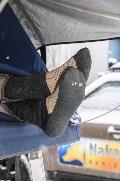 Nakatanenga merino winter socks