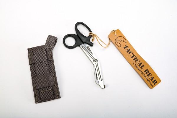 Nakatanenga MOLLE scissor bag including emergency scissors
