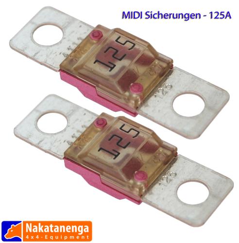 MIDI Streifensicherung 125A, 2 Stück