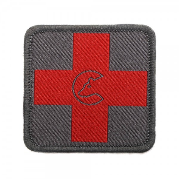 Morale Patch - Cross red, woven