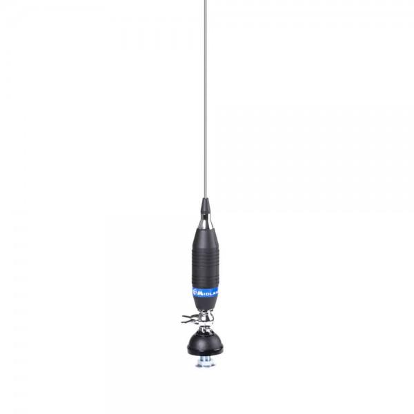 Alan Funk 90 CB Antenne zur Festmontage, Länge ca. 90cm, 200W, 4m Kabel mit DV-Stecker