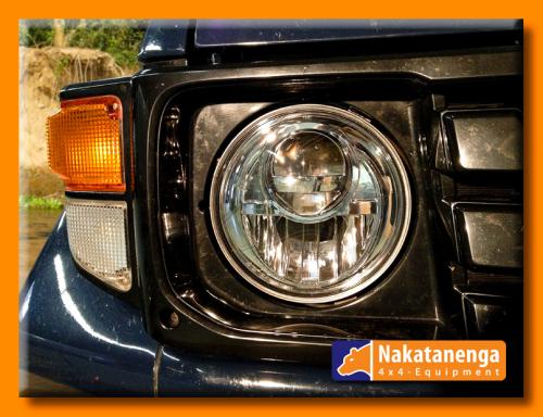 NOLDEN 7-Zoll Bi-LED Reflektor-Hauptscheinwerfer für Toyota LandCruiser HZJ