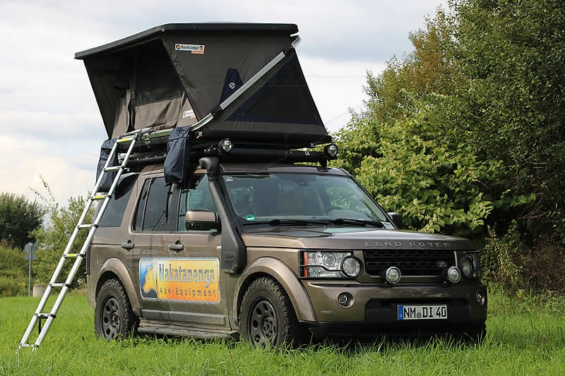 ? Order the hard-top rooftop tent Roof Lodge Z-TENT here | Nakatanenga 4x4-Equipment for Land Rover Offroad u0026 Outdoor & ? Order the hard-top rooftop tent Roof Lodge Z-TENT here ...