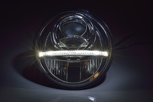 Mercedes G LED headlights