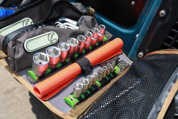 Stecknusshalter für Tool Roll