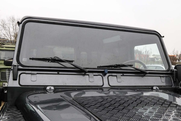 Land Rover Defender front windscreen, clear