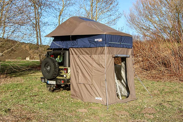 Roof Lodge Evolution 2 - Dachzelt Extended mit Bodenzelt