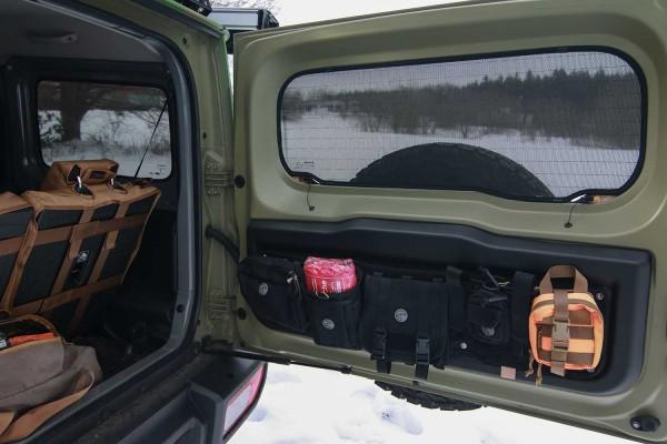 Sunnyboy set for rear side windows and rear window for Suzuki Jimny 2, ab Bj 2018