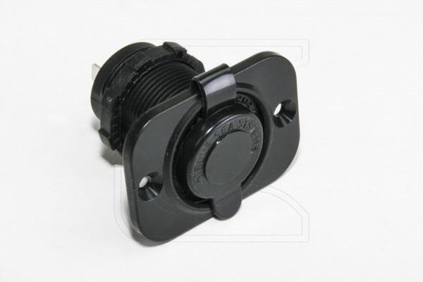BlueSea Dual USB Einbau-Steckdose mit Abdeckung, für 12 und 24 V