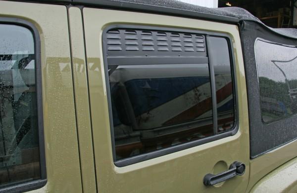 Jeep Wrangler Unlimited Lüftungsbleche Seitenfenster