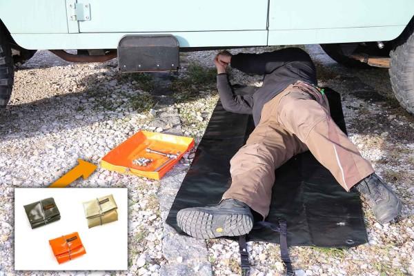 Mechanic tray outdoor