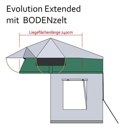 Evolution Basic mit Vorzelt