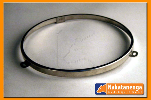 Stainless steel mounting ring for 7'' headlights