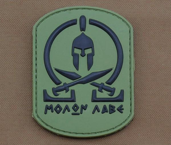 Morale Patch - MOLON LABE, Grün