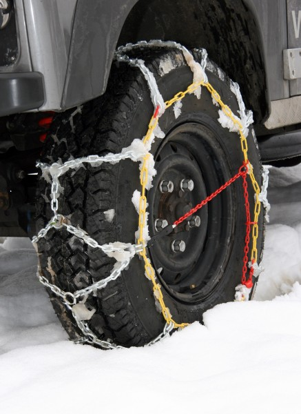 Schneeketten für Offroad Reifen