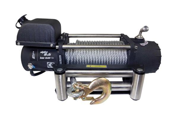 Horntools Alpha 9.5 winch, 4300kg traction, 12V