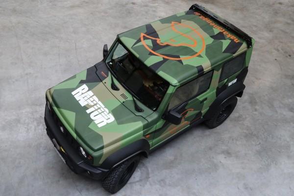 CargoBear 2.0 Querbügel - für Suzuki Jimny 2, GJ