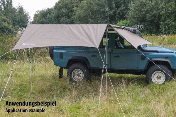 Compact Extension with Arch Shape for Nakatanenga Evolution2 Awning