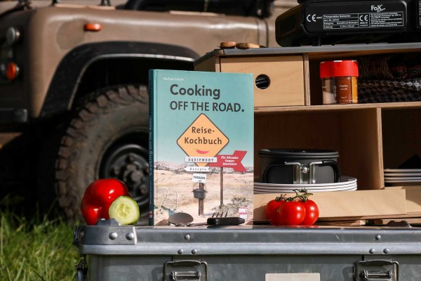 Buch - Cooking of the Road - das Reisekochbuch