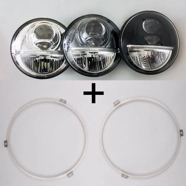 NOLDEN 7-Zoll Generation 2 Bi-LED Reflektor-Hauptscheinwerfer für VW T3