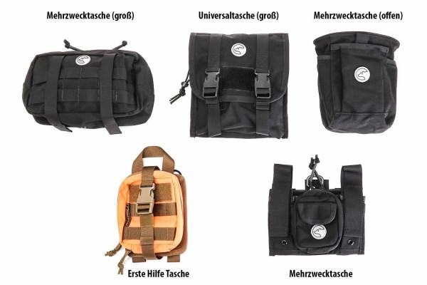 Molle Taschen Set