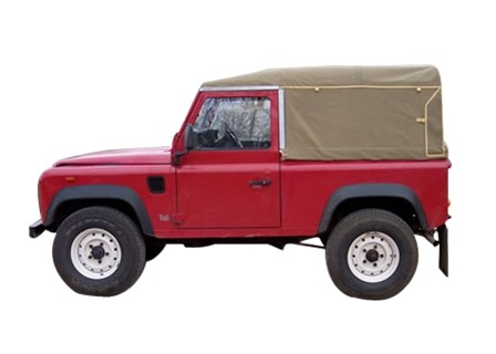 Exmoor Softtop for Land Rover Defender 90 Td5/Td4