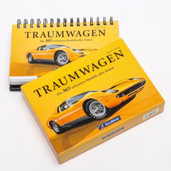 Mehrjahreskalender / Tischaufsteller - Traumwagen - die 365 schönsten Modelle aller Zeiten