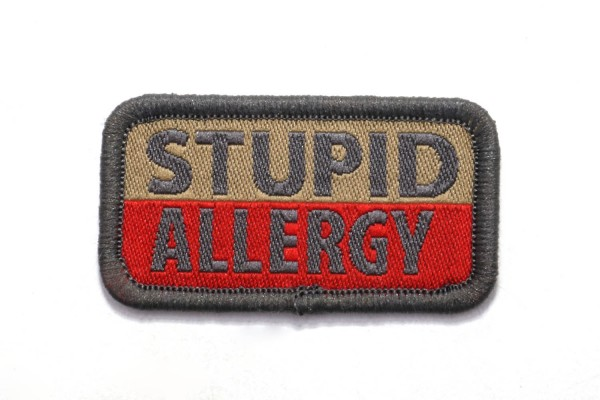 Morale Patch - Allergie, gewebt