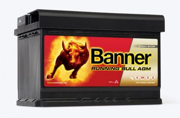 Banner Running Bull AGM Battery