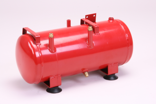 Compressed air tank with 8 litres