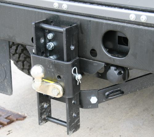 Zusatzschlitten für Anhängerkupplung Dixon-Bate, Standard