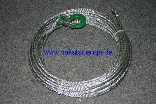 Windenseil Stahl 25m