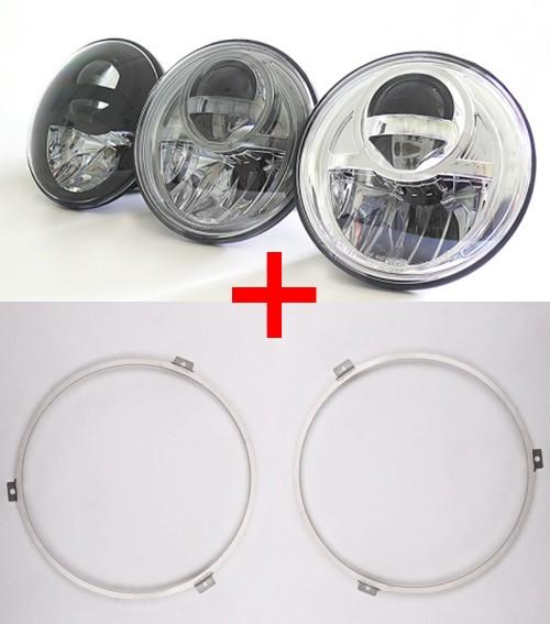 NOLDEN 7-Zoll Bi-LED Reflektor-Hauptscheinwerfer für VW T3