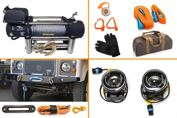 Winch bundle with Horntools Alpha 9.5 or 12.0 including accessories