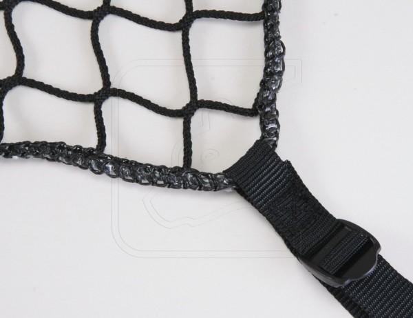 Cargon net, nylon - 150x100 cm with tension buckles