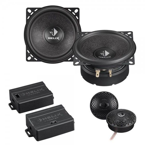 Helix S 42C, component system, 100 mm bass-midrange driver