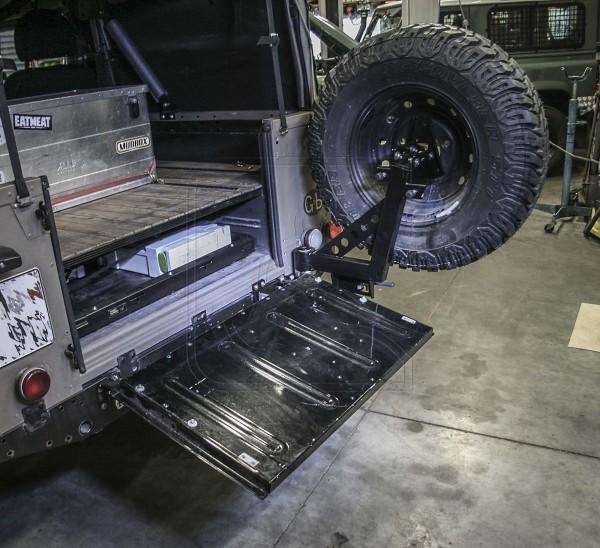 Defender Reserveradträger Pickup