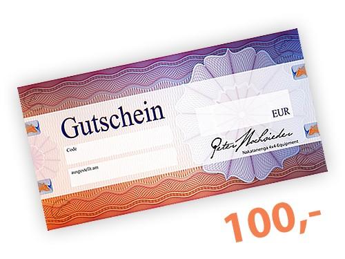 100 EUR Geschenk-Gutschein