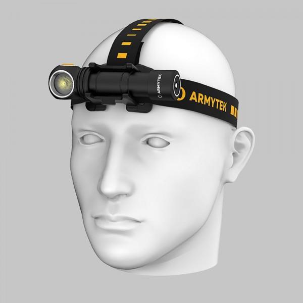 ARMYTEK WIZARD C2 PRO NICHIA MAGNET USB, Flashlight, Headlamp, F06801W