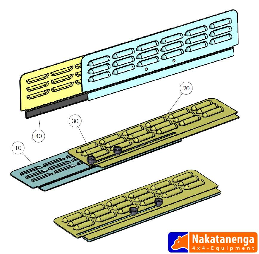 Nakatanenga Lüftungsbleche Seitenfenster - Universal, verstellbar ...