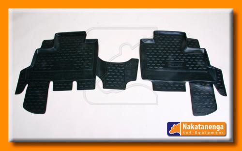 Nakatanenga Fußmatten-Set, Jeep Wrangler JK hinten