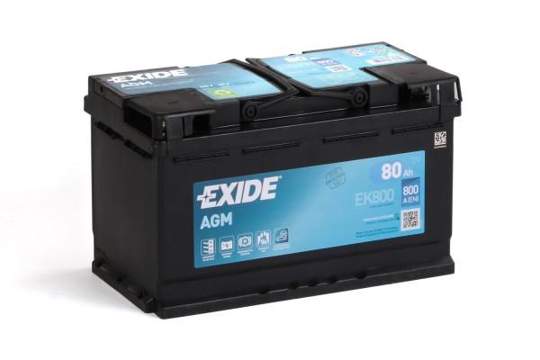 Batterie, EK800, Exide