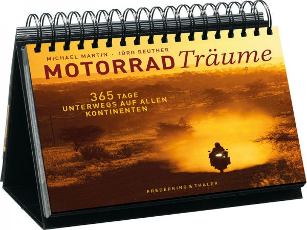 Mehrjahreskalender / Tischaufsteller – Motorradträume