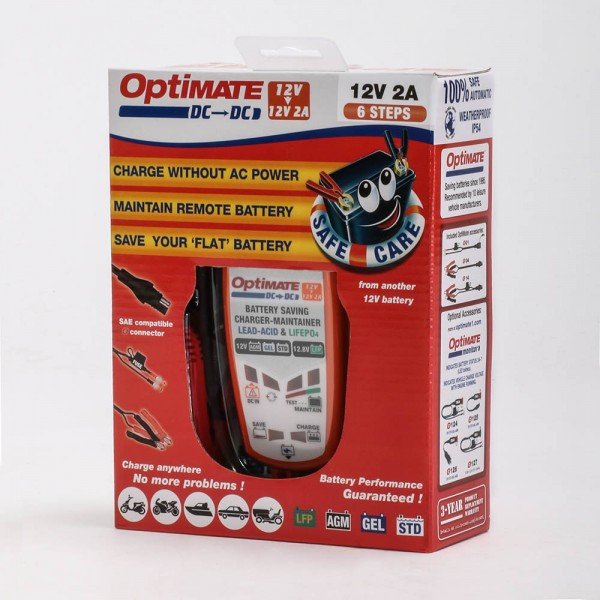 OptiMATE DC to DC Ladegerät TM500