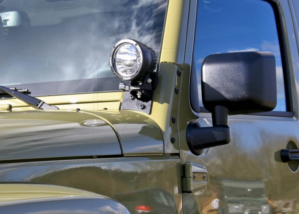 Nakatanenga A-pillar lamp holder Jeep Wrangler JK