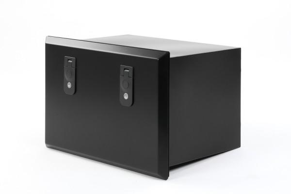 Defender 110 side storage box, black