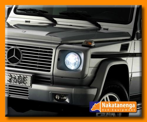 NOLDEN 7-Zoll Bi-LED Reflektor-Hauptscheinwerfer für Mercedes G