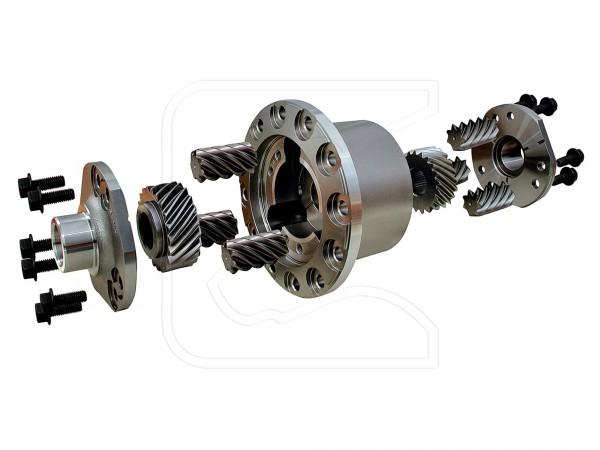 Detroit Truetrac - Torsen-Differentialsperre, Hinterachse, Rover 24 spline
