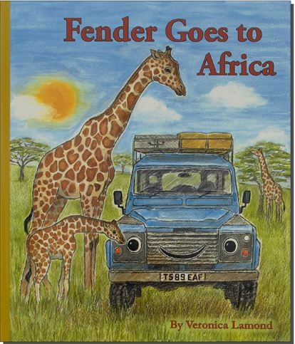 Kinderbuch - Fender goes to Africa